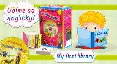 Zľava 39%: Naučte vaše deti speakovať! Začnite brúsiť ich jazyk v útlom veku a uľahčite im budúcnosť. S nádhernými balíkmi anglických knižiek s CD sa vzdelávanie stane zábavou.