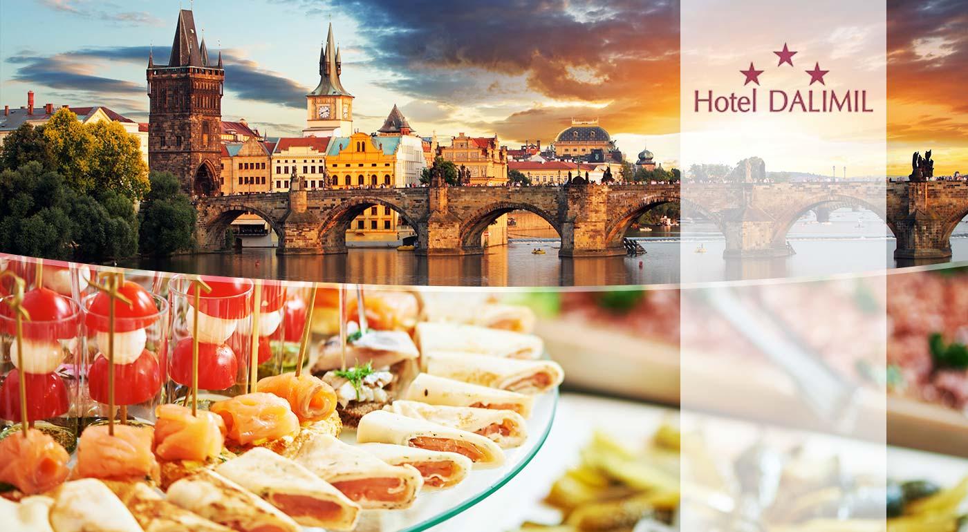 Obľúbený pobyt pre dvoch v Hoteli Dalimil*** neďaleko historického centra v Prahe
