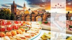 Zľava 37%: Okúzľujúca architektúra, preslávené vinárne, krčmičky a výhodná poloha blízko centra, tým všetkým sa pýši Hotel Dalimil*** v Žižkove, kde môžete stráviť dni so svojou polovičkou aj vy!