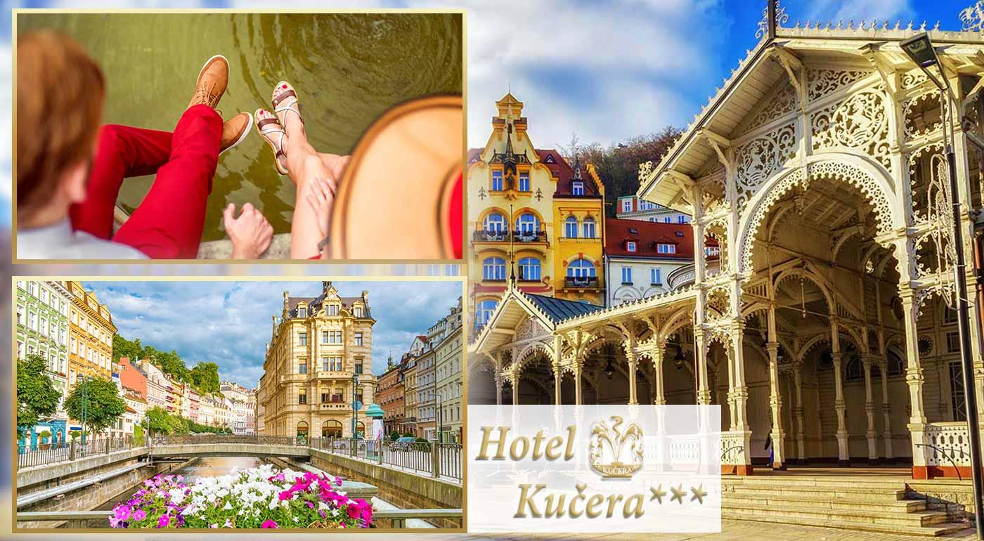 Príjemný relax pre dvojicu v Karlových Varoch v Hoteli Kučera*** priamo v srdci kúpeľnej zóny