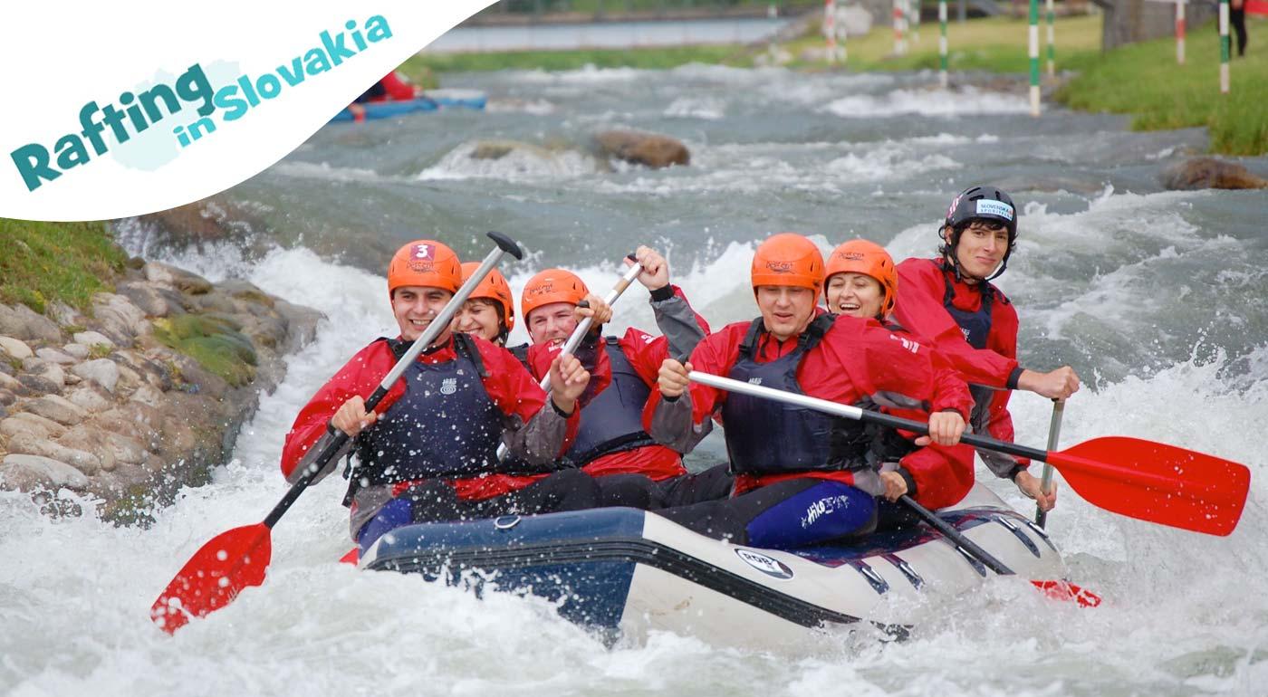 Nezabudnuteľné letné zážitky - rafting na kanáli víťazov v Liptovskom Mikuláši alebo splav Váhu