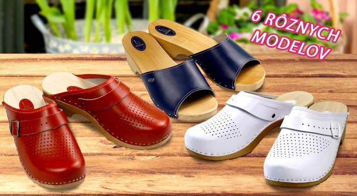 Fotka zľavy: Hľadáte obuv, ktorá vydrží roky? Práve ste ju našli. Štýlové dámske dreváky sú nielen trvácne, ale tiež zdravé pre vaše nohy, chôdzu a chrbticu. Vyberte si z 6 farieb.