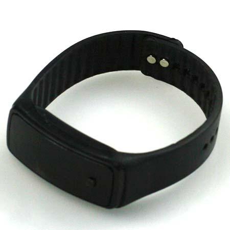 Silikónové hodinky s LED displejom - farba čierna