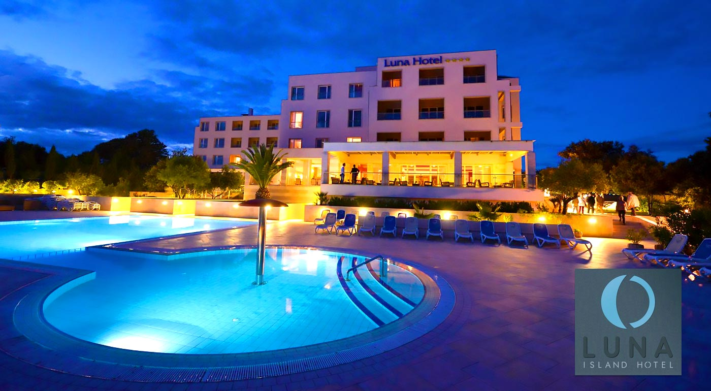 Dovolenka v luxusnom Hoteli Luna Island**** v Chorvátsku
