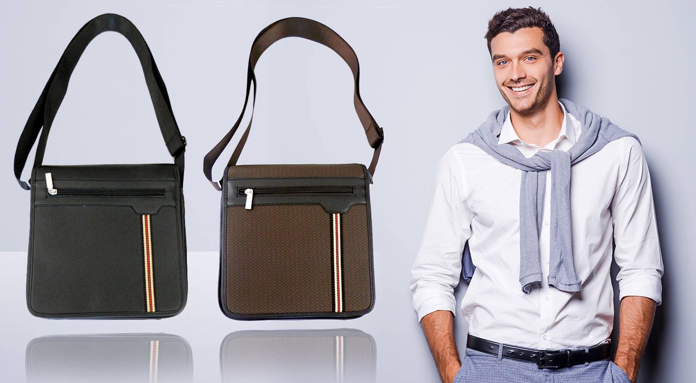 Štýlová pánska taška cez rameno - vyberte si z dvoch farieb