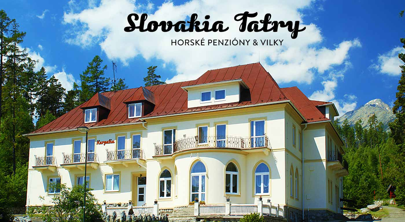 Hory, turistika a vy v penzióne Karpatia vo Vysokých Tatrách
