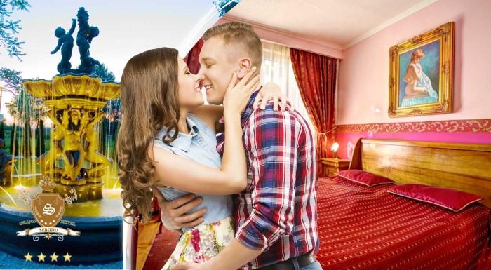 Fotka zľavy: Táto noc sa začne romantickou večerou pri sviečkach iba pre dvoch! Doprajte si objatie luxusu v Hoteli Sergijo**** v Piešťanoch.
