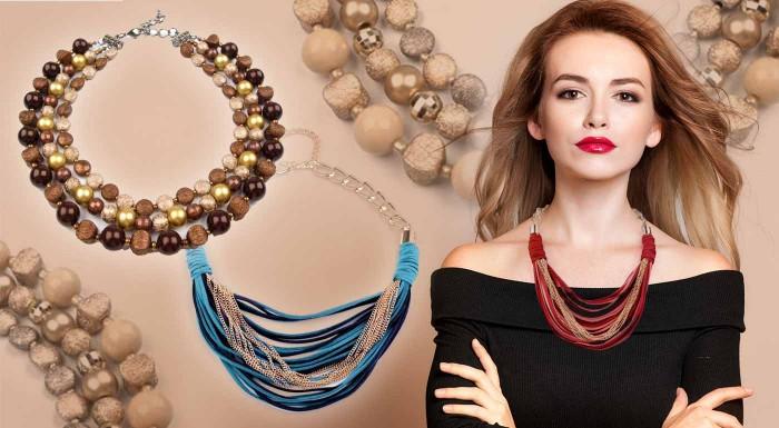 Zľava 32%: Skrášlite sa nápadným náhrdelníkom na len za za 6,49 €, ktorý vás oblečie