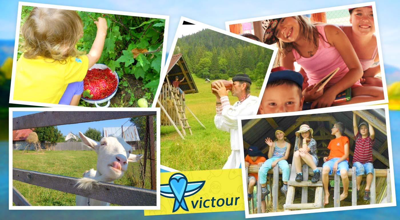 7-dňový tábor Pod Kráľovou Hoľou na slovenskom vidieku