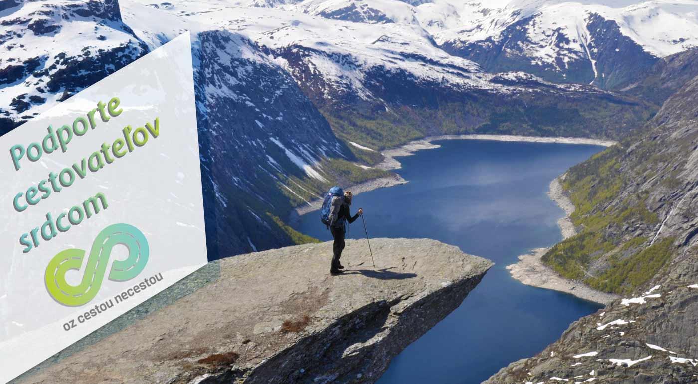 Podpora mladým cestovateľom - dobrovoľný príspevok na originálne cestovateľské expedície
