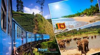 Zľava 27%: Úchvatná a tajomná. Presne taká je Srí Lanka, ostrov pobozkaný Indickým oceánom. Objavujte ho s CK Royal Travel. V cene je ubytovanie pri pláži, polpenzia a letenky priamo z Bratislavy.