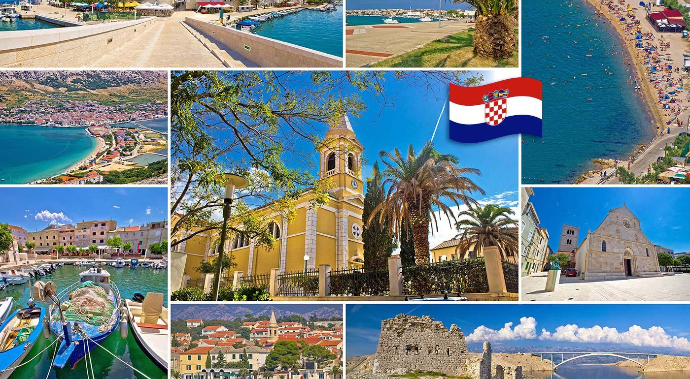 Slnečné dni na chorvátskom ostrove Pag v Penzióne Trebam Odmor