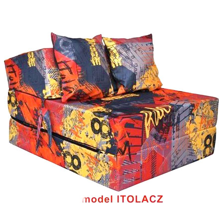 Rozkladacie kreslo s potlačou - model Itolacz