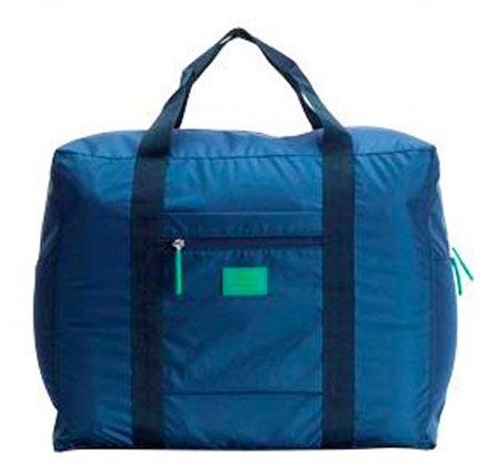 Veľká skladacia cestovná taška Simone - farba modrá