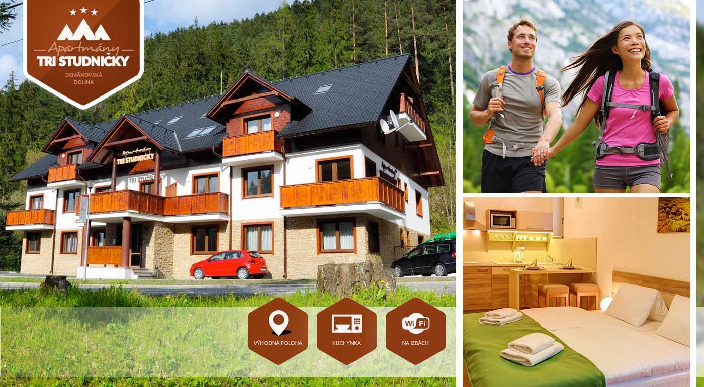 Nabite sa krásou prírody Demänovskej doliny - 3 až 4 dni v moderných apartmánoch pre dve osoby
