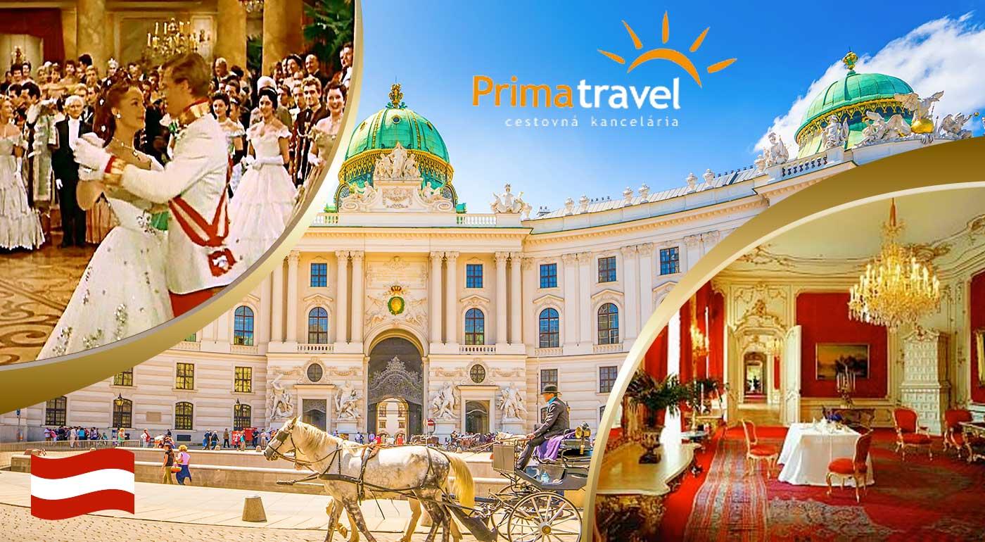 Po stopách cisárovnej Sissi a návšteva múzea šnapsu vo Viedni