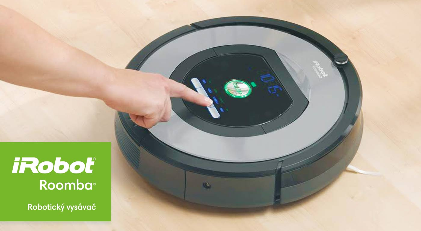 Robotický vysávač iRobot Roomba 774 s funkciou naplánovania vysávania každý deň v týždni