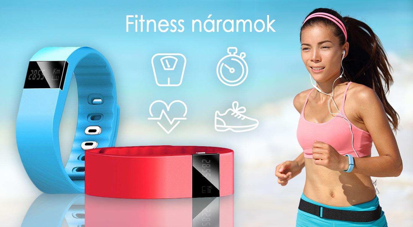 Inteligentný fitness náramok, ktorý ľahko spárujete s vašim smartfónom