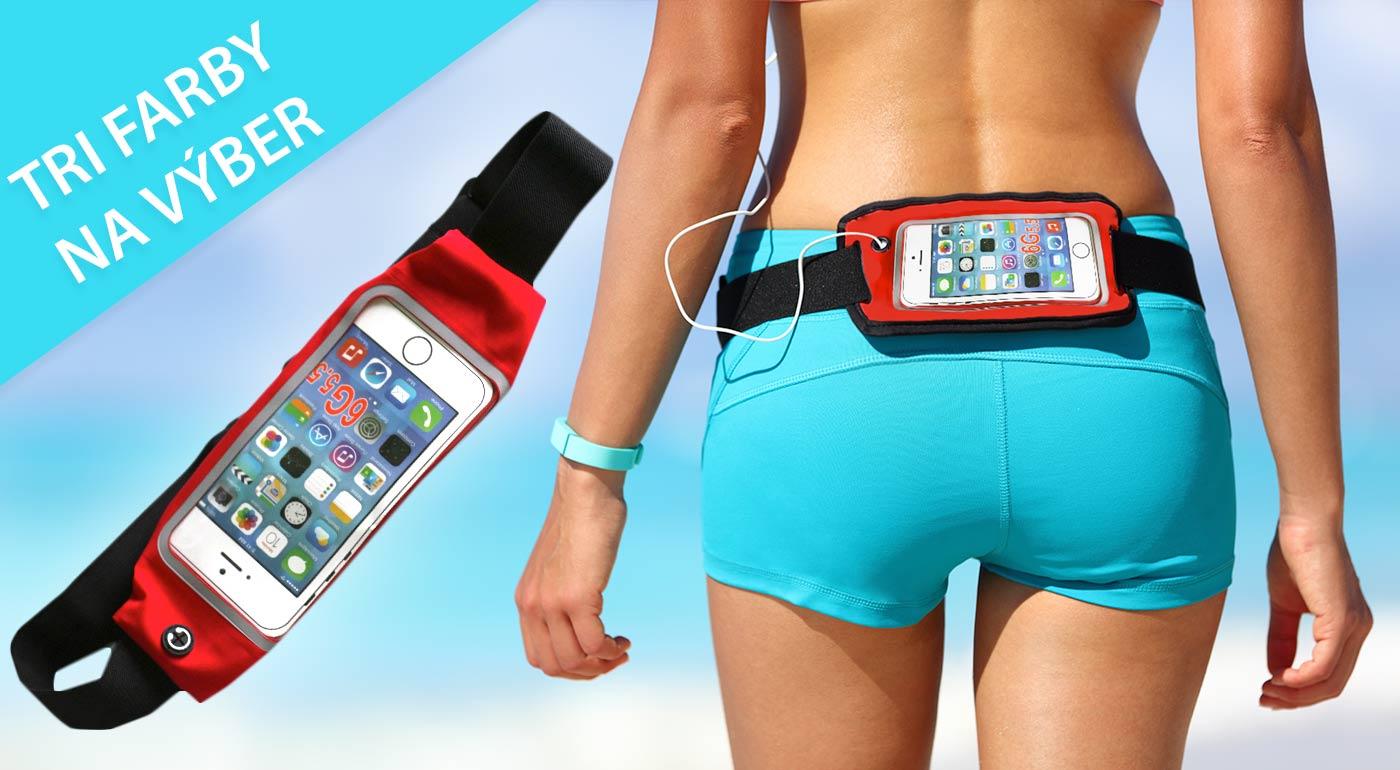 Športujte dosýta s praktickým puzdrom, ochránite váš mobil