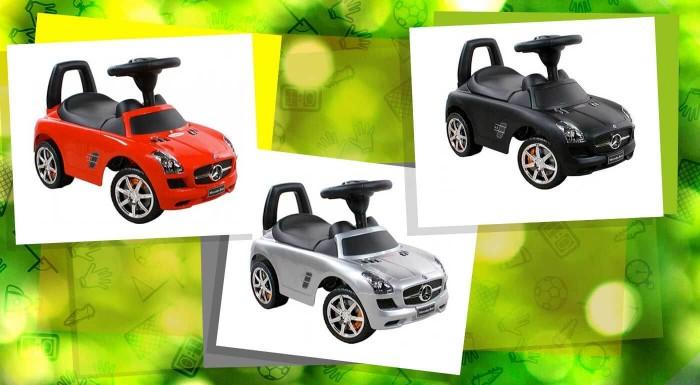 Fotka zľavy: Nechajte vášho malého drobca brázdiť ulice na Mercedese. Potešte vaše deti a sprostredkujte im zážitok z jazdy na úplne novom luxusnom odrážadle v dvoch farbách.