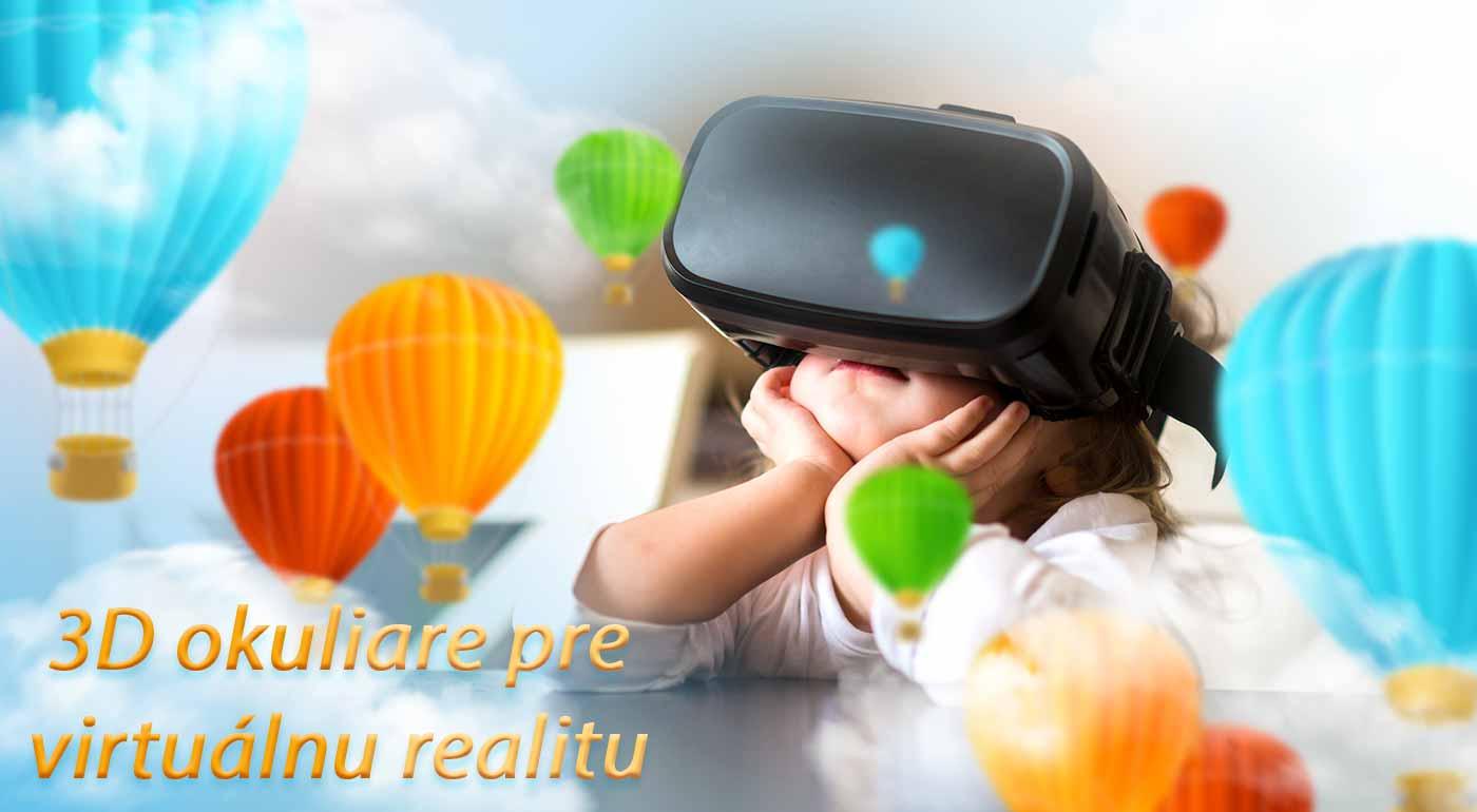 Fantastické 3D okuliare s Bluetooth ovládačom pre hodiny zábavy