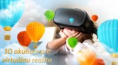 Zľava 68%: Vstúpte do 3D sveta virtuálnej reality. Zabávajte sa dlhé hodiny so špeciálnymi 3D okuliarmi, ktoré vás prenesú do iných dimenzií. Kompatibilné s väčšinou bežných smartfónov!