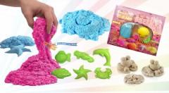 Zľava 71%: Postavte si vlastný hrad aspoň z magického piesku, hračka pre deti a dospelých
