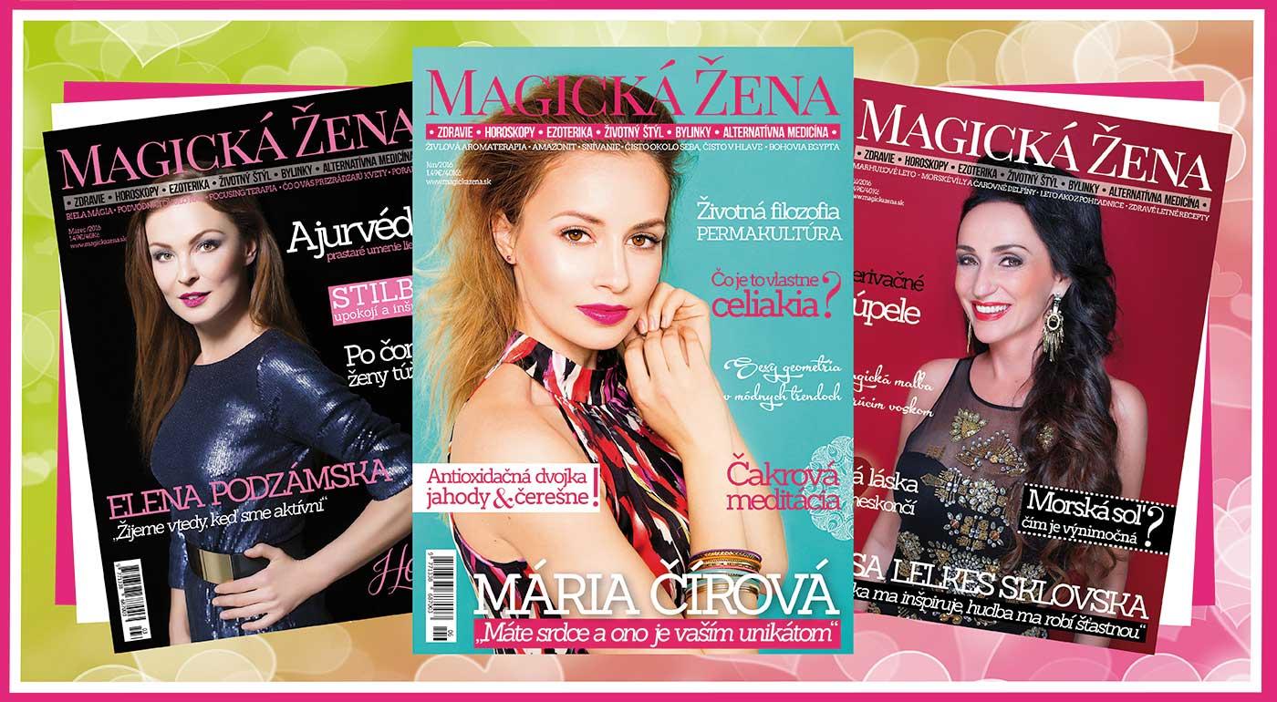 Ročné predplatné časopisu Magická žena
