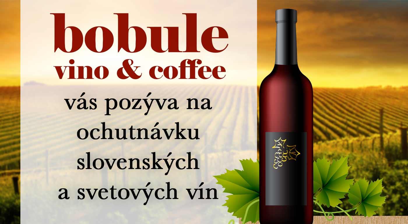 Príďte ochutnať z ponuky 130 slovenských a svetových vín do Vinotéky Bobule v Banskej Bystrici