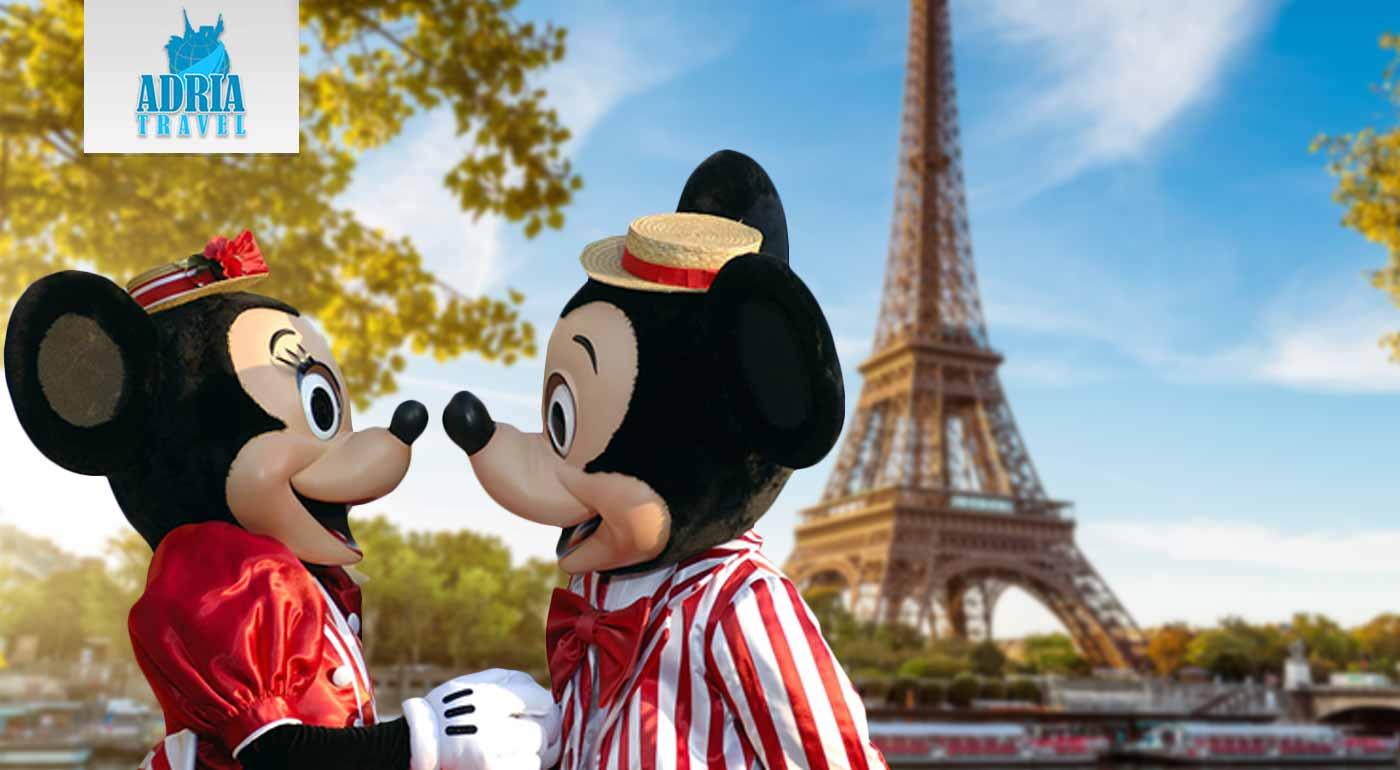 Nezabudnuteľný 5-dňový zájazd do Paríža s návštevou Disneylandu pre malých aj veľkých