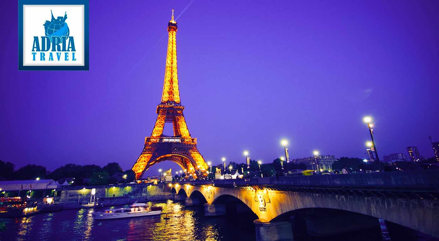 Paríž si vás vždy podmaní a nikdy sa vám nezunuje, nadýchajte sa ho na 5-dňovom poznávacom zájazde
