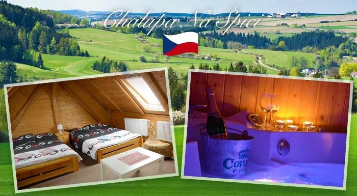 Fotka zľavy: Doprajte si oddych a pohodu v dedinke Oudoleň v krásnej prírode Českomoravskej vrchoviny. V cene je privátna sauna aj vírívka.
