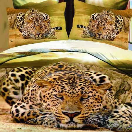 3D obliečky - Leopard
