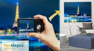 Zľava 61%: Ozdobte si stenu vášho interiéru originálnym obrazom na maliarskom plátne s vlastnou fotografiou už. Na výber z viacerých rozmerov!