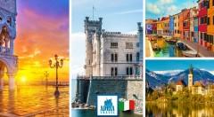Zľava 31%: Nechajte sa vtiahnuť do vibrujúcej atmosféry mesta snov postaveného na vode. Užite si nádherný 3-dňový zájazd do talianskych Benátok so sprievodcom a autobusovou dopravou!
