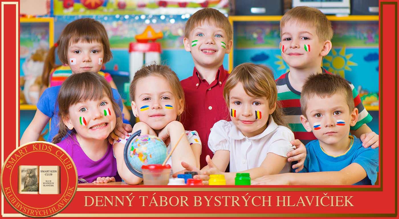 5-dňový detský denný tábor Smart Kids Club