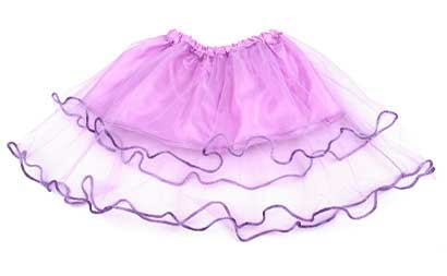 Dievčenská suknička - farba fialová