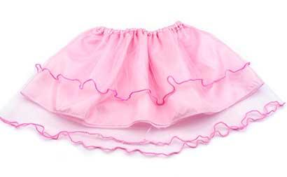 Dievčenská suknička - farba ružová