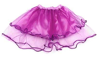 Dievčenská suknička - farba svetlofialová