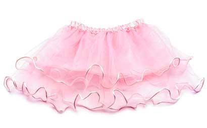 Dievčenská suknička - farba svetloružová