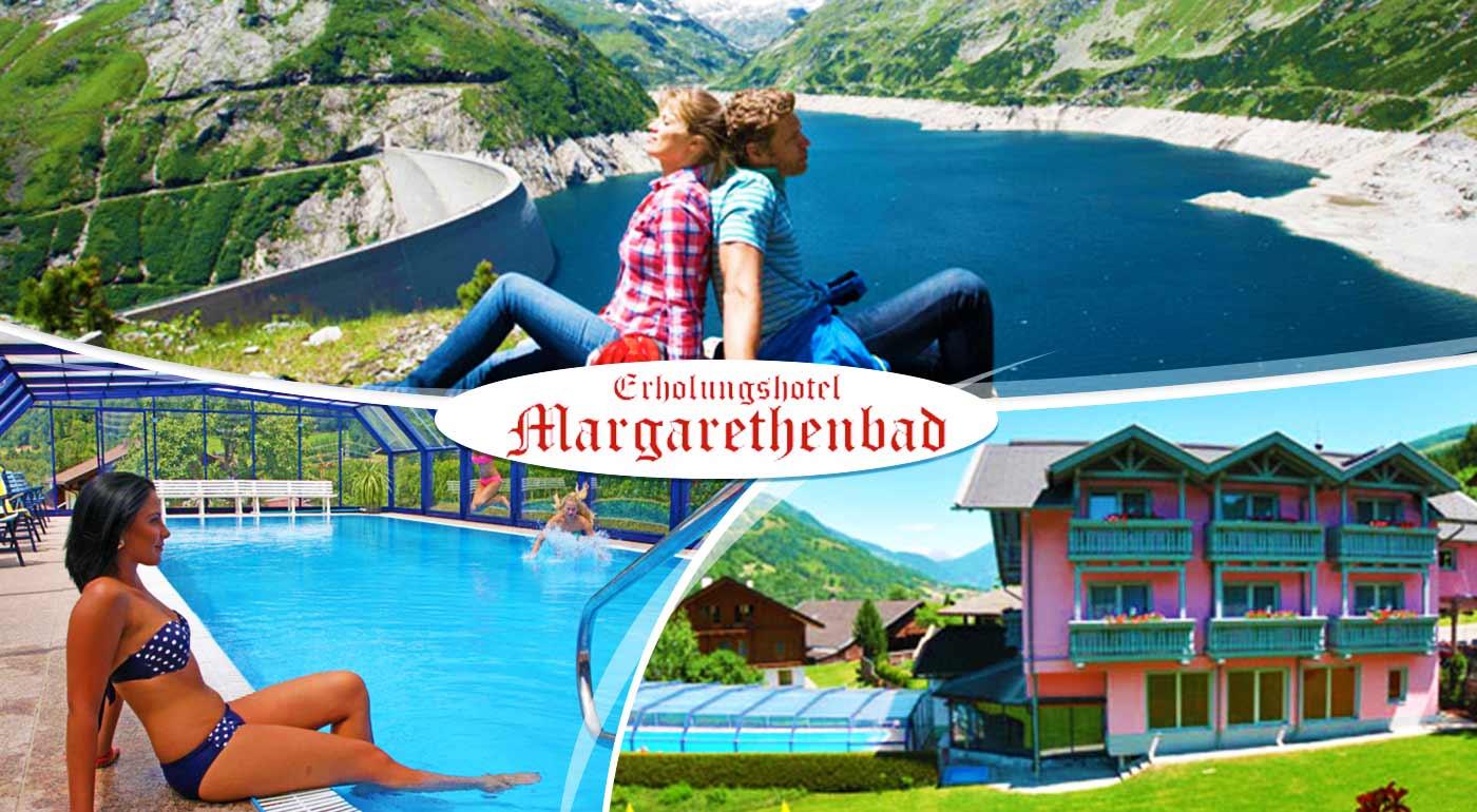 Najlepší horský oddych v luxusnom kúpeľnom Erholungshotel Margarethenbad **** v rakúskych Alpách s neobmedzeným wellness