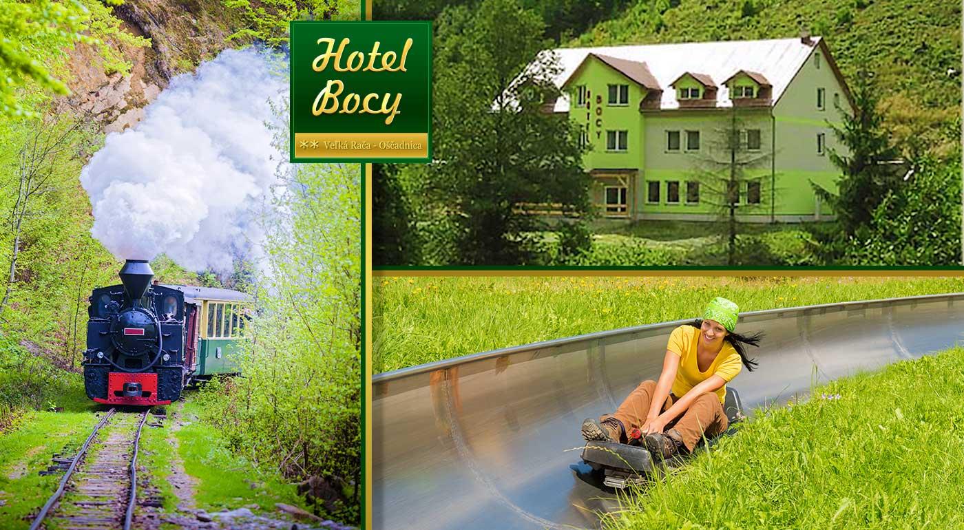 Pobyt v Hoteli Bocy priamo pod Snowparadise Veľká Rača - Oščadnica.