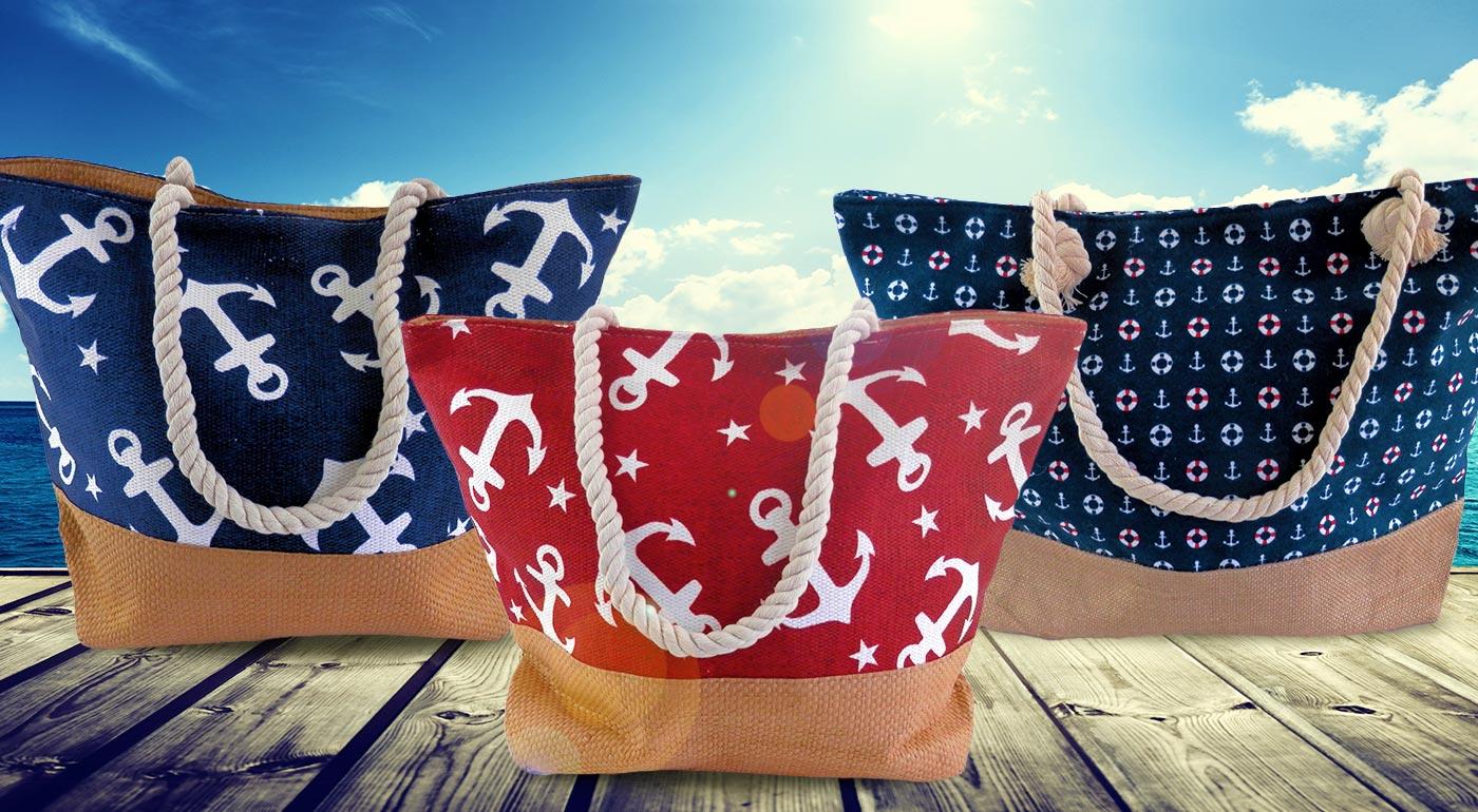Letné dámske tašky v námorníckom štýle - vyberte si zo 7 modelov
