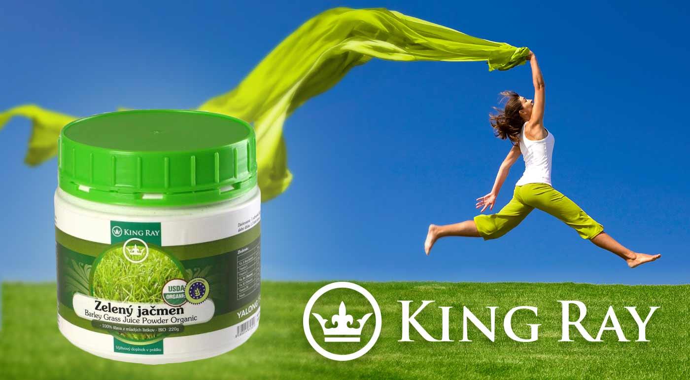 Pripite si na zdravie so zeleným jačmeňom