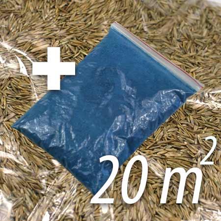 Živný roztok + trávne osivo na 20 m²