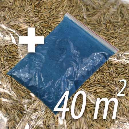 Živný roztok + trávne osivo na 40 m²