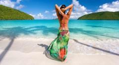 Zľava 59%: Nádherná letná šatka v rôznych farbách. Je ľahučká ako pierko a môžete ju použiť aj ako pareo - šatku na plavky.