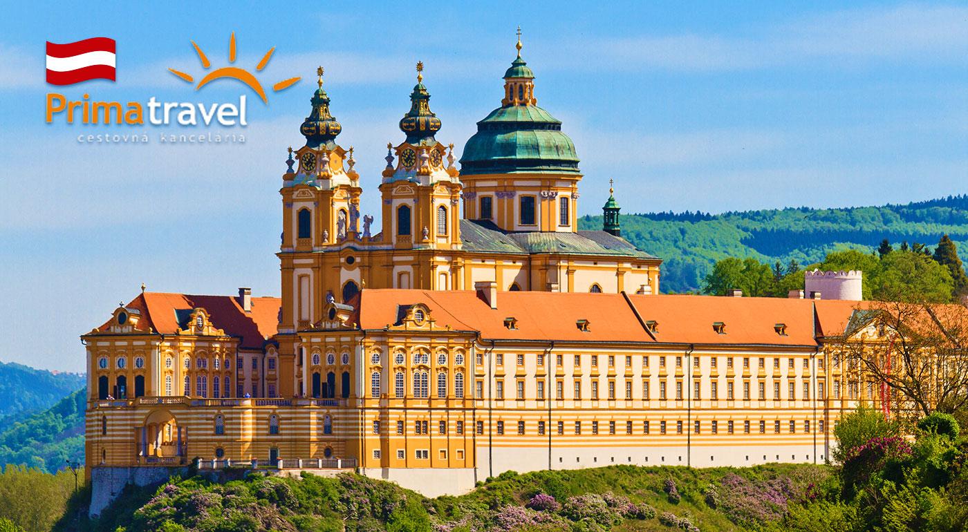 Fotka zľavy: Dychvyrážajúca návšteva renesančného zámku Schallaburg a opátstva v Melku v Rakúsku známeho z románu Meno ruže