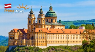Zľava 33%: Fascinujúci deň plný histórie - renesančný zámok Schallaburg a opátstvo v Melku. Užite si dychvyrážajúce historické pamiatky a prekrásne zámocké záhrady len za 22,90 €!