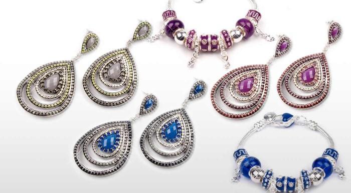 Zľava 65%: Zvýraznite vašu krásu masívnymi šperkami v etno štýle. Vyberte si náušnice či náramok v nádherných letných farbách.